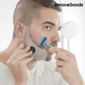Шаблони за оформяне на брада InnovaGoods Hipster Barber