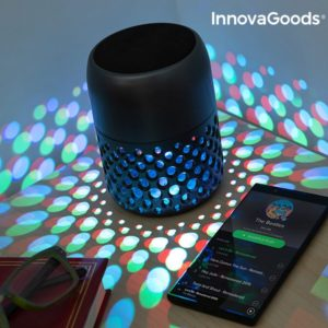 LED диско лампа с блутут колонка InnovaGoods Mandalamp