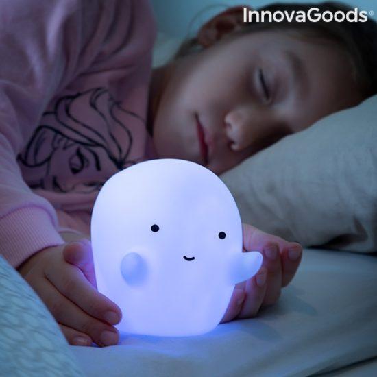 LED лампа с променящи се цветове призрак InnovaGoods Glowy
