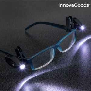 LED фенерчета за очила InnovaGoods 360A - 2 броя