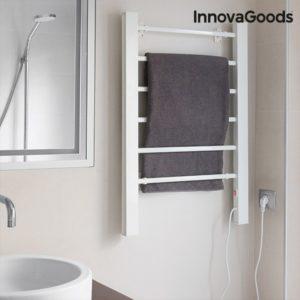 Електрически сушилник за дрехи за стена или под InnovaGoods 90W - бял