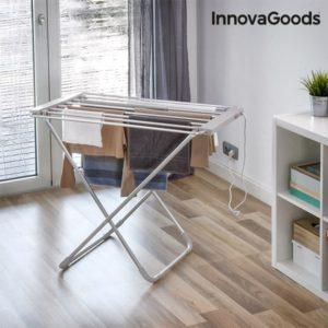 Електрически сушилник за дрехи InnovaGoods 100W - сив