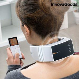Масажор за врат с дистанционно управление InnovaGoods Pro