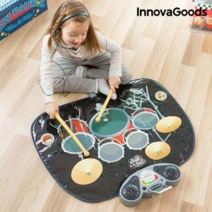 Музикално килимче барабан за деца InnovaGoods