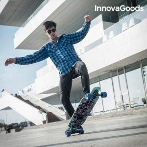 Скейтборд лонгборд InnovaGoods Longboard
