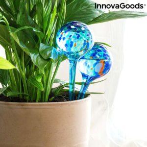 Балони за автоматично поливане на саксии InnovaGoods Aqua Loon - 2 броя