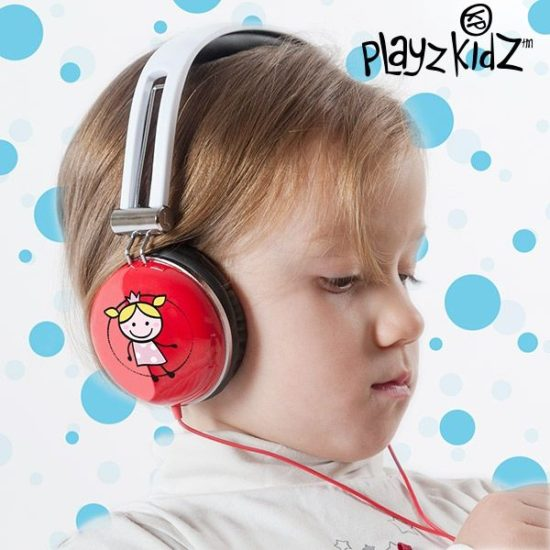 Детски слушалки за музика Playz Kidz Magic Fairy