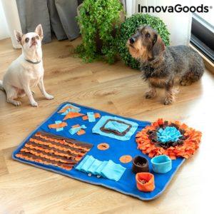 Кучешко килимче за игра и душене InnovaGoods Footfield Pet Snuffle Mat