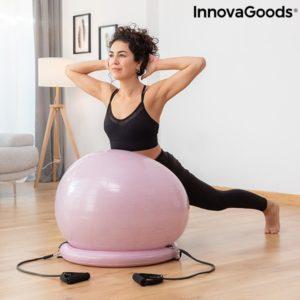 Топка за йога упражнения с въжета InnovaGoods AshtanBall