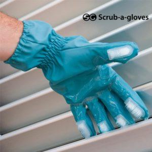 Универсална ръкавица за почистване с четки Scrub-a-Gloves