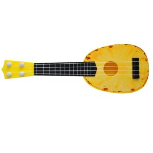 Детска играчка китара - жълта