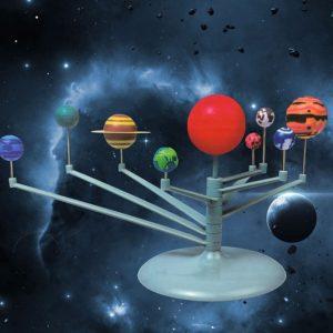 Макет на Слънчевата система - направи си сам