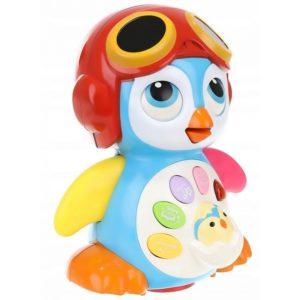 Образователна играчка за деца пингвин - танцуващо, пеещо и светещо пингвинче