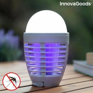 Презареждаща лампа против комари InnovaGoods KL Bulb 2 в 1