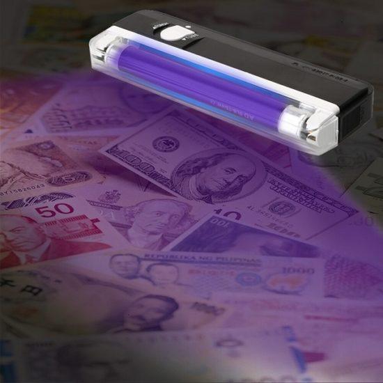 UV лампа за проверка на банкноти