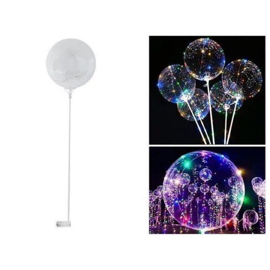 Светещ балон с LED светлина - 35 см
