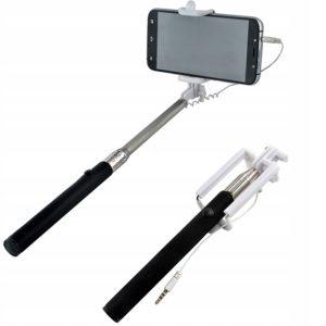 Селфи стик за смартфон с жак 3.5мм