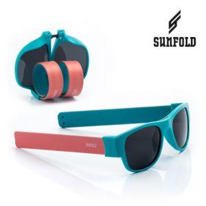 Сгъваеми слънчеви очила Sunfold AC1 - полароид, сини и розови