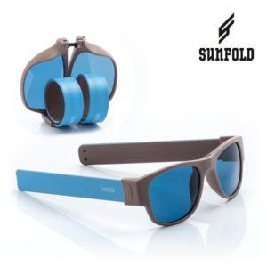 Сгъваеми слънчеви очила Sunfold AC3 - полароид, сини и сиви