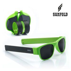 Сгъваеми слънчеви очила Sunfold AC6 - полароид, зелени и черни