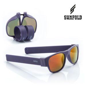 Сгъваеми слънчеви очила Sunfold ES1 - полароид, лилави