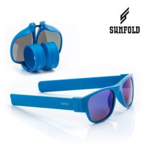 Сгъваеми слънчеви очила Sunfold ES5 - полароид, сини