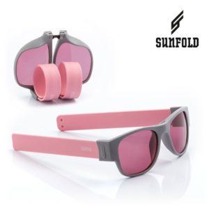 Сгъваеми слънчеви очила Sunfold PA1 - полароид, розови