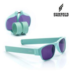 Сгъваеми слънчеви очила Sunfold PA3 - полароид, тюркоазени