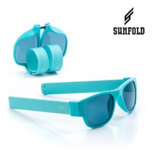 Сгъваеми слънчеви очила Sunfold PA4 - полароид, сини