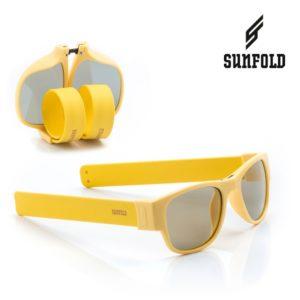 Сгъваеми слънчеви очила Sunfold PA5 - полароид, жълти