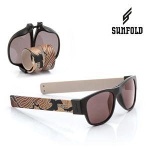 Сгъваеми слънчеви очила Sunfold TR6 - полароид, черни и кафяви