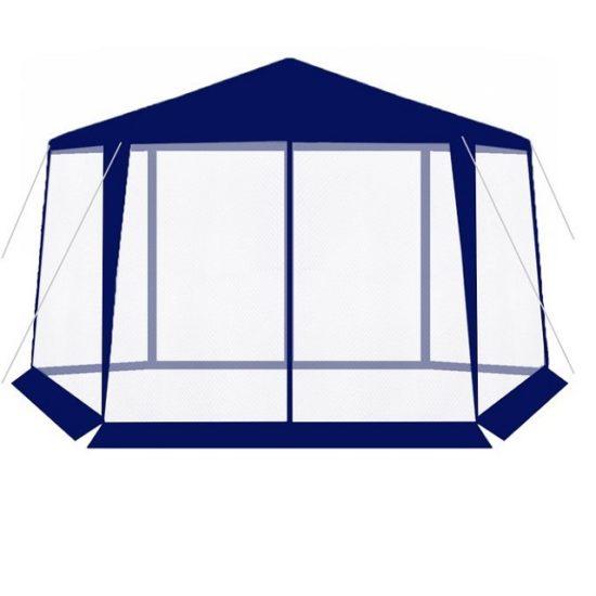 Палатка за къмпинг - синя