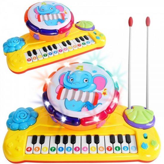 Интерактивен детски инструмент с мелодии