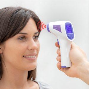 Инфрачервен безконтактен термометър ITR-QY