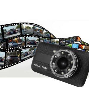 Видеорегистратор за кола с камера за задно виждане Full HD Car DVR