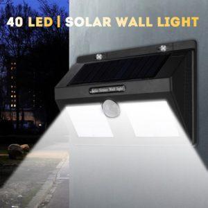 Двойна соларна лампа със сензор за движение Solar Motion Sensor Light 1626A