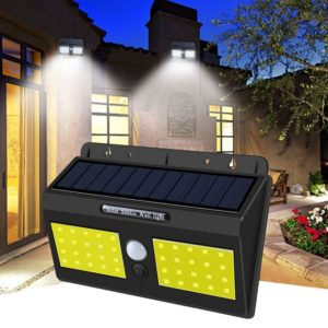 Двойна соларна LED лампа с датчик за движение 1626B