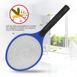 Електрическа мухобойка и палка против комари и други насекоми