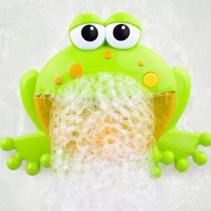Играчка за баня жаба със сапунени балончета