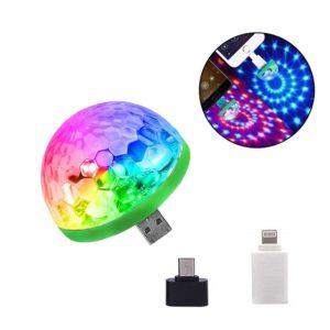 Мини диско лампа Led Small Magic Ball