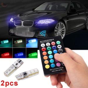 LED светодиоди за фарове на кола с променящи се цветове и дистанционно Ray 9 RGB