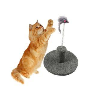 Драскало за котки с мишка