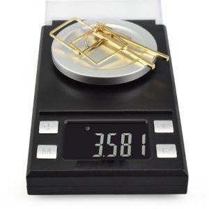 Електронна професионална везна за бижута Jewelry Scale 8028