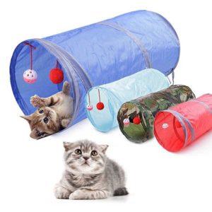 Занимателен тунел за котки