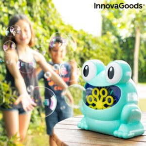 Машина за сапунени балончета жаба InnovaGoods Froggly
