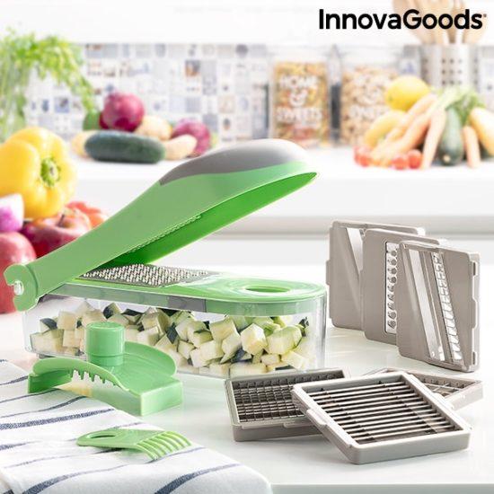 Мултифункционално кухненско ренде - чопър и мандолина InnovaGoods Choppie Expert 7 в 1