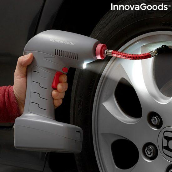 Преносим компресор за въздух InnovaGoods Airpro+