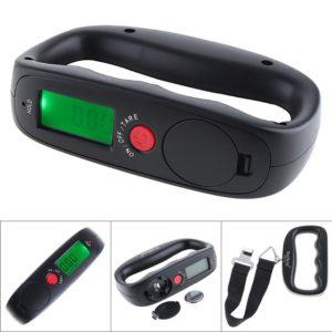Ръчен електронен кантар за багаж с кука WH-A14 - до 50 кг