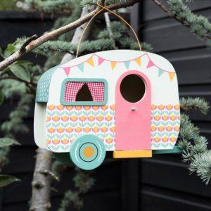 Дървена къщичка за птици Каравана - Rex London