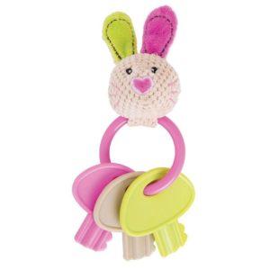 Бебешка дрънкалка Зайче с ключове Bigjigs MTBB544 1
